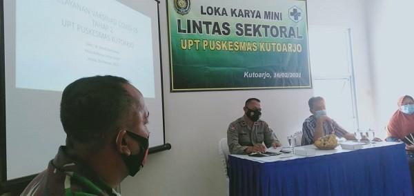 Camat Kutoarjo hadiri Loka Karya Mini Lintas Sektoral Puskesmas Kutoarjo