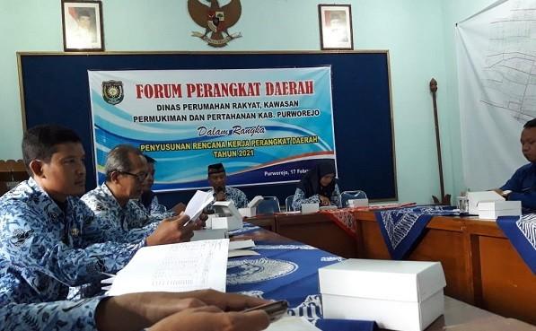 Camat Kutoarjo hadiri Forum Perangkat Daerah Dinperkimtan