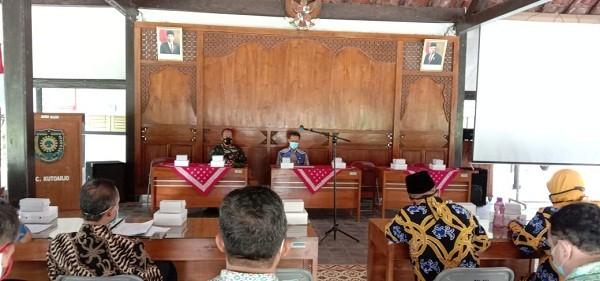 Pengukuhan Pengurus KORPRI tingkat Kecamatan Kutoarjo