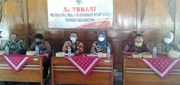 Advokasi Penguatan Gerakan Masyarakat Hidup Sehat Tingkat Kecamatan