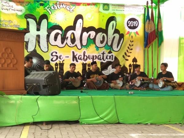 Camat Kutoarjo hadiri Festival Hadroh